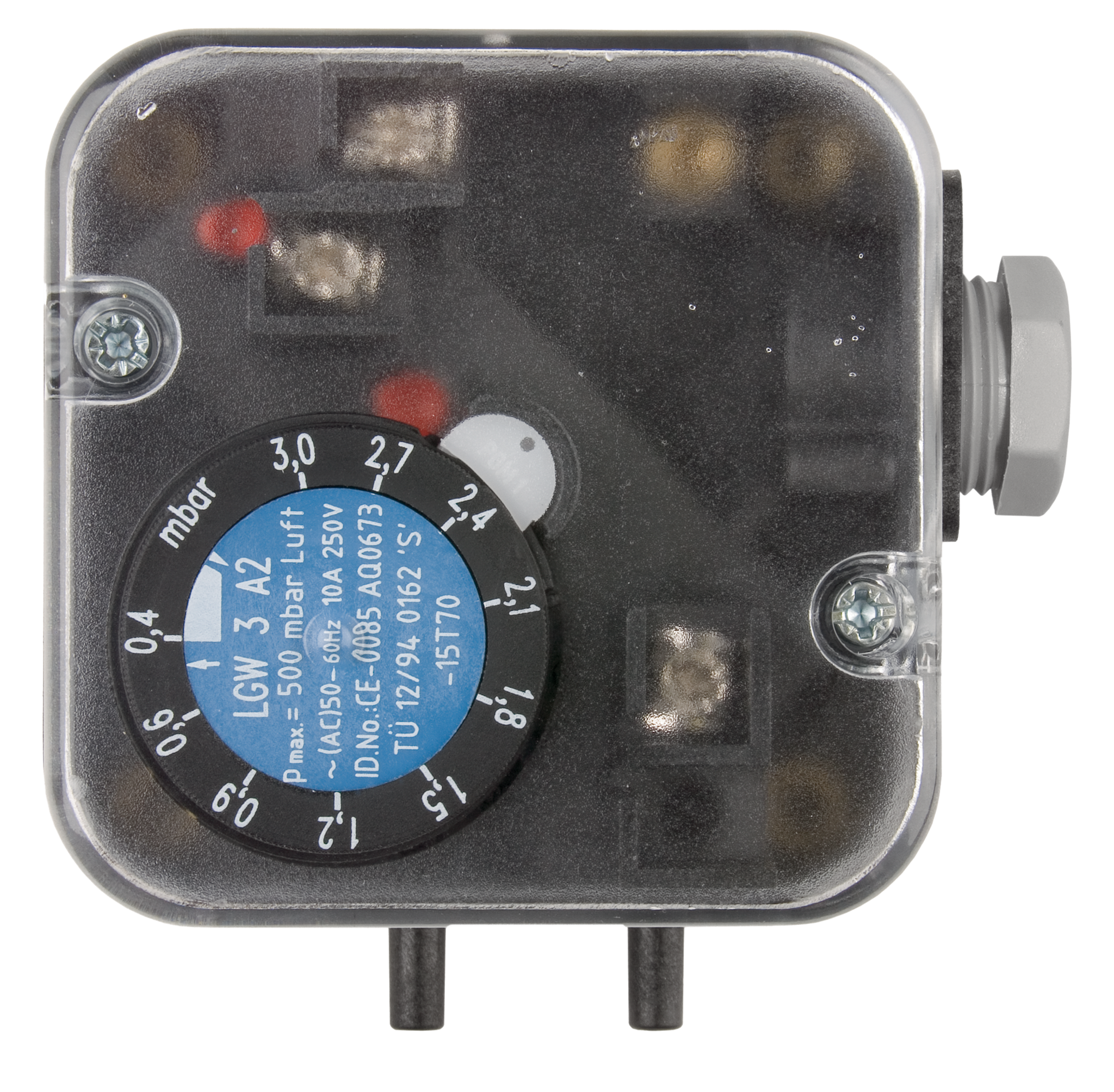 JUMO differential pressure monitor