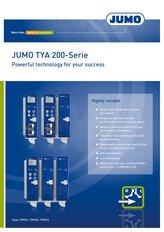Brochure JUMO TYA 200 Thyristorleistungssteller