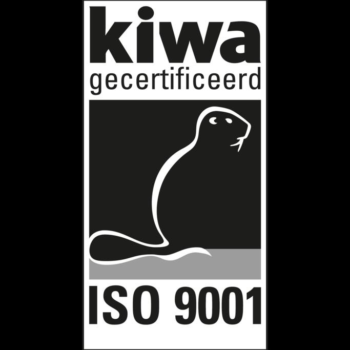 KIWA gecertificeerd ISO 9001