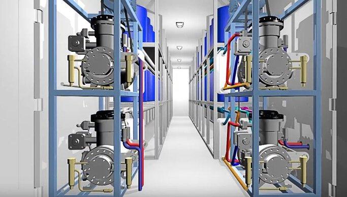 Interior W2W unit Rainmaker