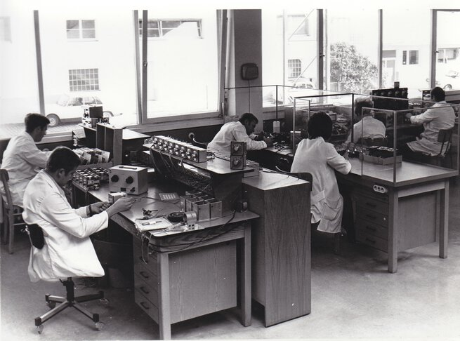 Production of electrical controllers in the 1960s