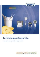 Prospekt przemysł mleczarski