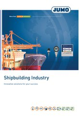 Brochure for the shipbuilding industry