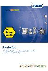 Broschüre Mess- und Regeltechnik für Ex-Bereich