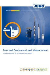 Brochure Point and Continuous Level Measurement