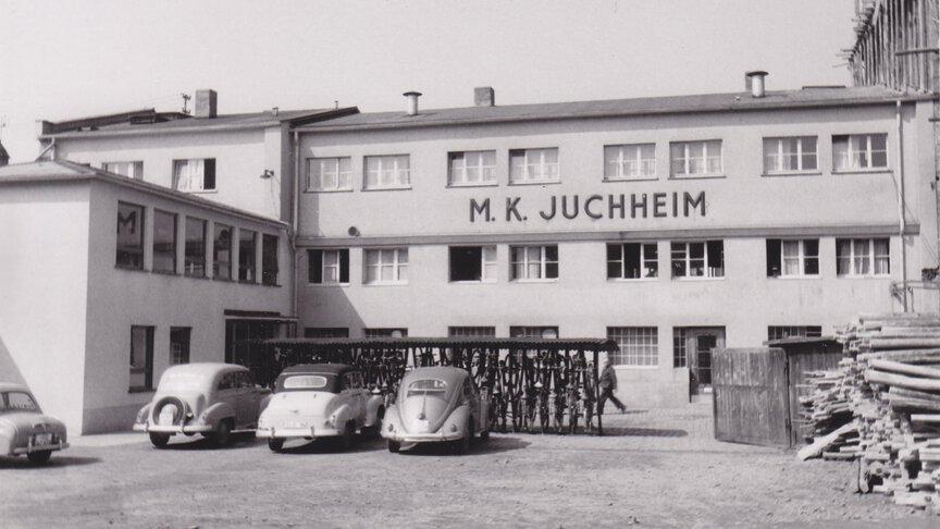 Erstes Gebäude von M-K-Juchheim