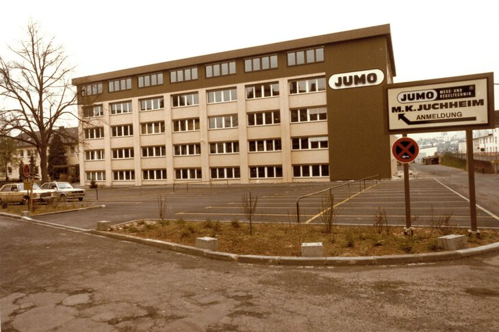 New adjoining building – Fulda 1985