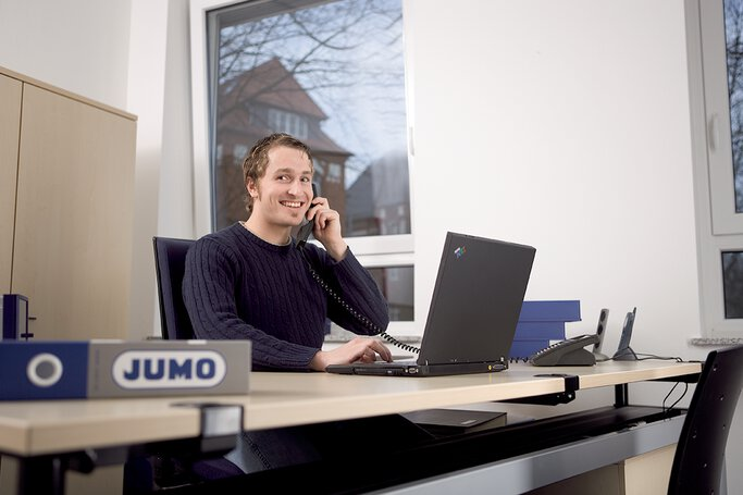 Student of information technology at JUMO