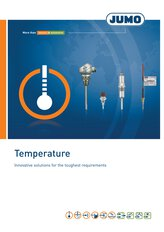 JUMO Brochure Temperature