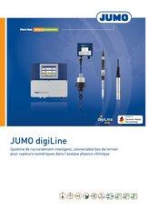 Titel JUMO digiLine-Broschüre