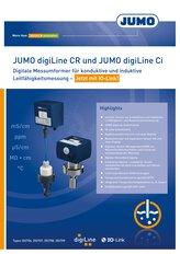 Titel JUMO digiLine CR/Ci-Broschüre
