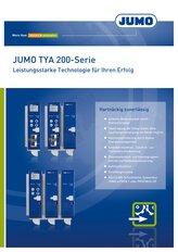 Broschüre JUMO TYA 200 Thyristorleistungssteller