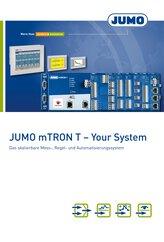 Prospekt JUMO mTRON T -  Your System