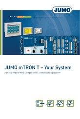 Brochure JUMO mTRON T -  Your System