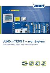 Broschüre JUMO mTRON T Mess-, Regel- und  Automatisierungssystem