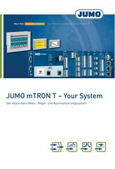 Brochüre JUMO mTRON T