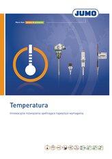 Prospekt pomiary temperatury JUMO