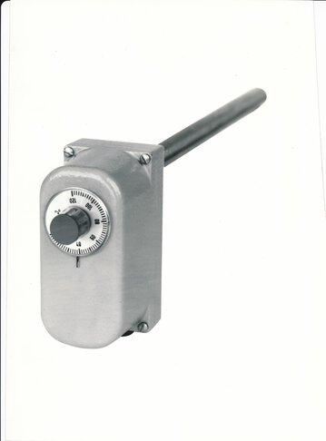 Staafthermostaat met microschakelaar van JUMO