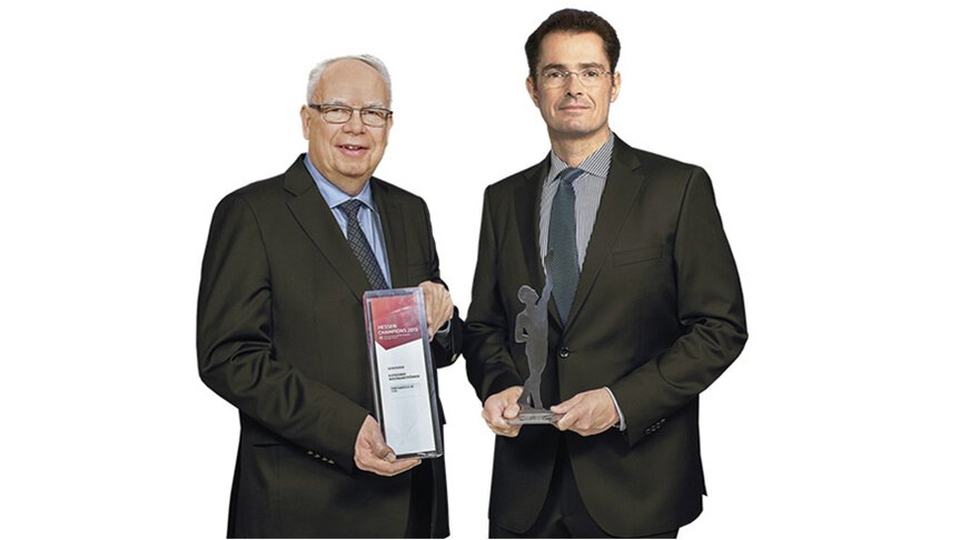 Bernhard and Michael Juchheim  with the