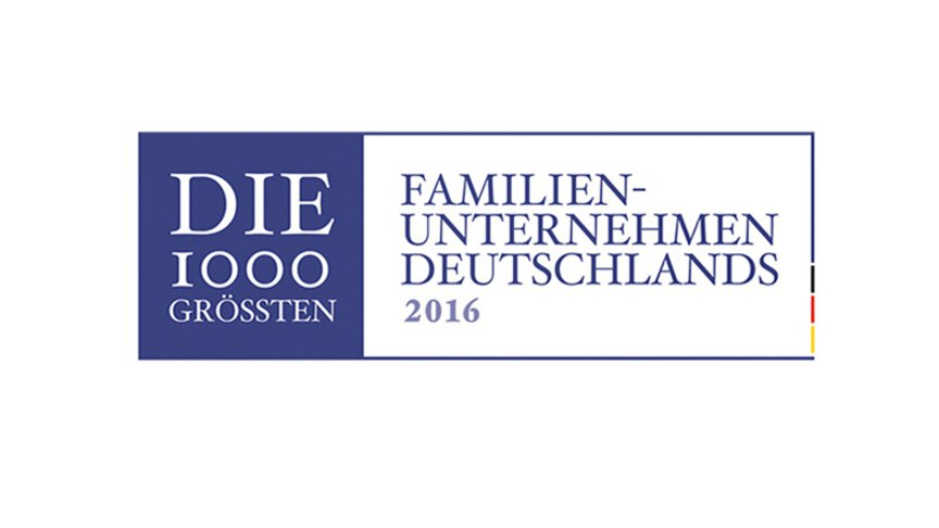 The 1, 000 largest family businesses in Germany 2016 Logo