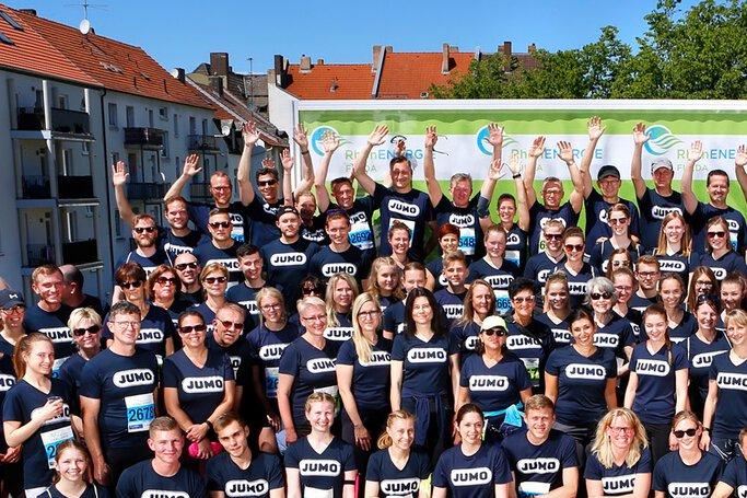 JUMO beim RhönEnergie Challenge-Lauf 2019