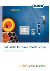 JUMO Brochure Industrial Furnace Construction