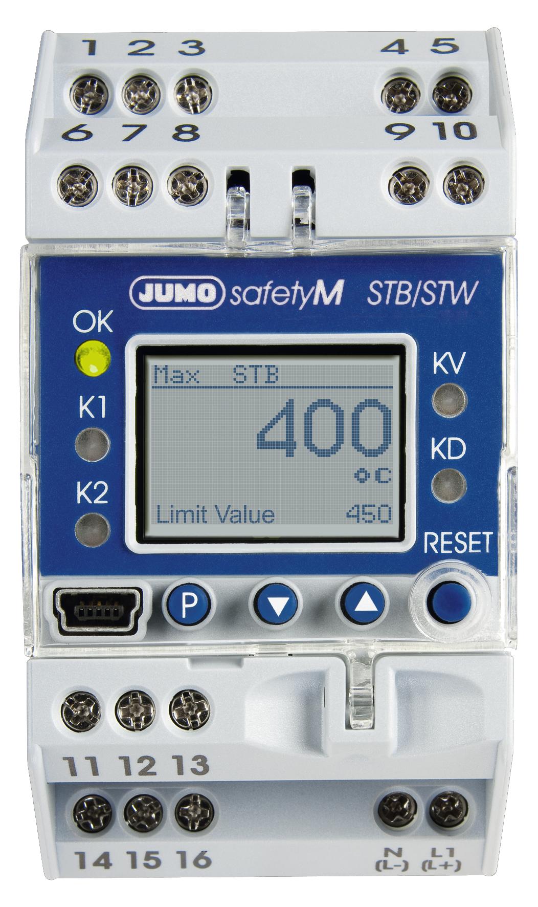 JUMO safetyM STB/STW