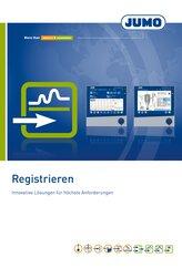 Prospekt rejestracja danych pomiarowych JUMO