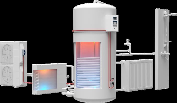 Climatiseur/pompe à chaleur