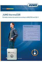 Brochure JUMO thermoCOR