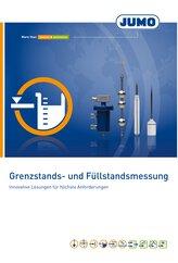 Broschüre Grenzstand- und Füllstandsmessung