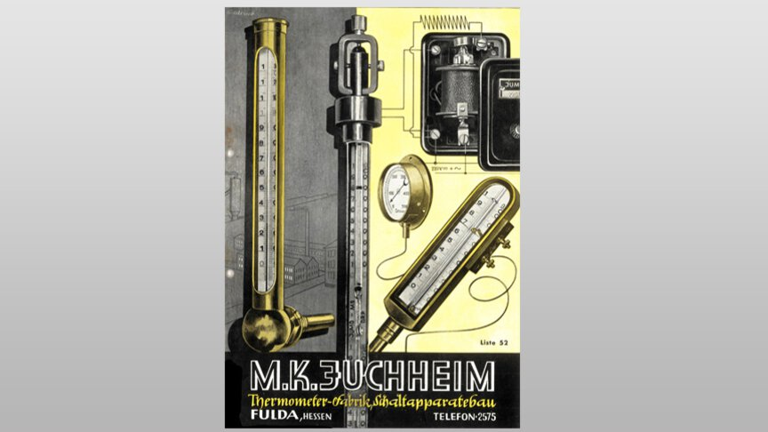 Het productportfolio bestond in 1952 uit thermometers en schakelinstallaties