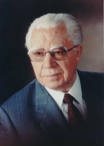 De oprichter van het bedrijf, Moritz Kurt Juchheim.