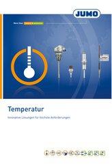 Broschüre Temperatur
