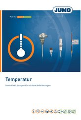 Prospekt Temperatur