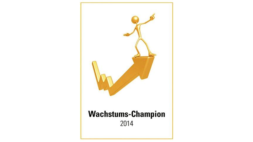 Wachstums-Champion 2014 Logo