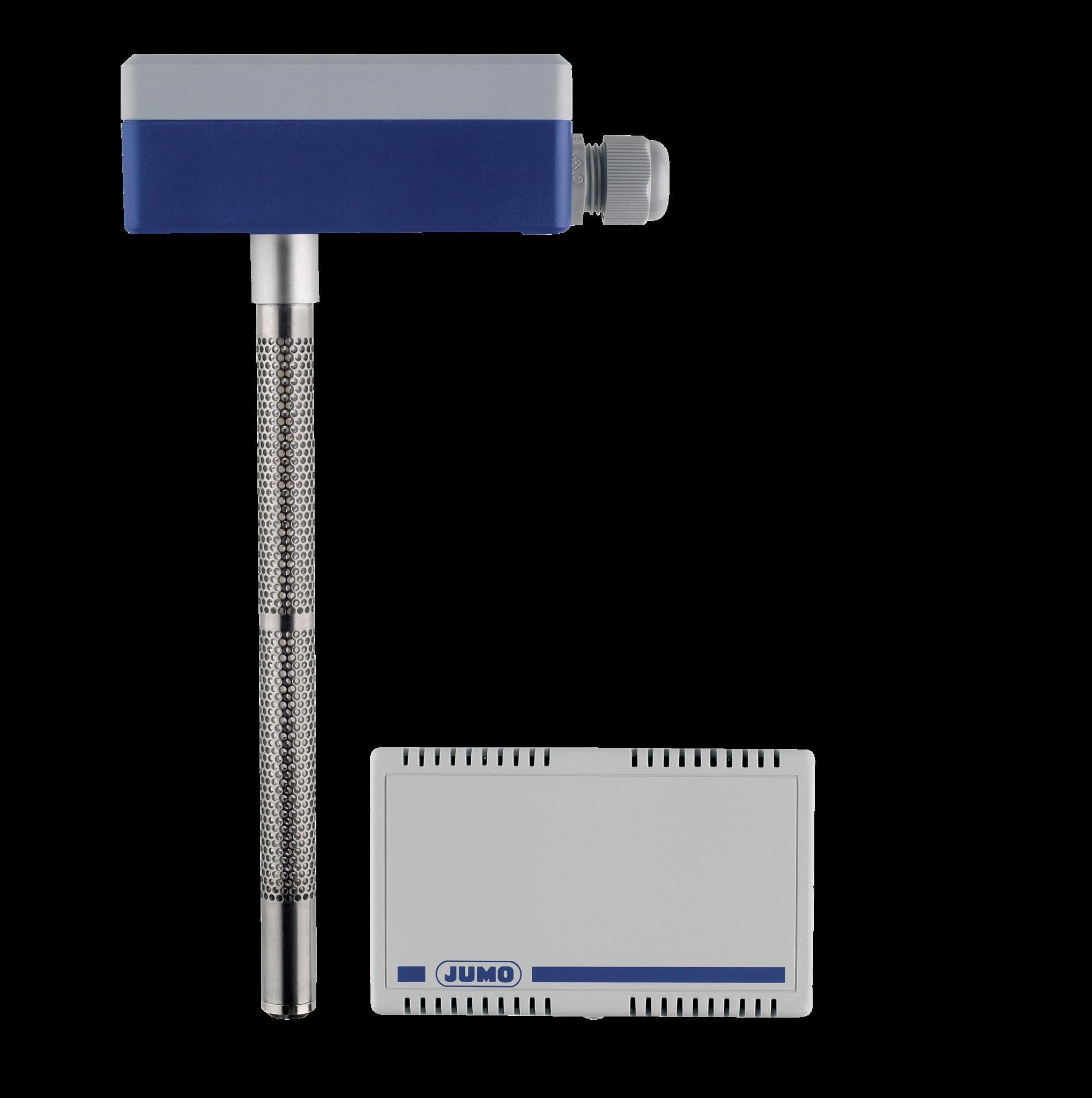 Hygro transducer and hygrothermal transducer