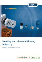Heating and air-conditioning industry brochure