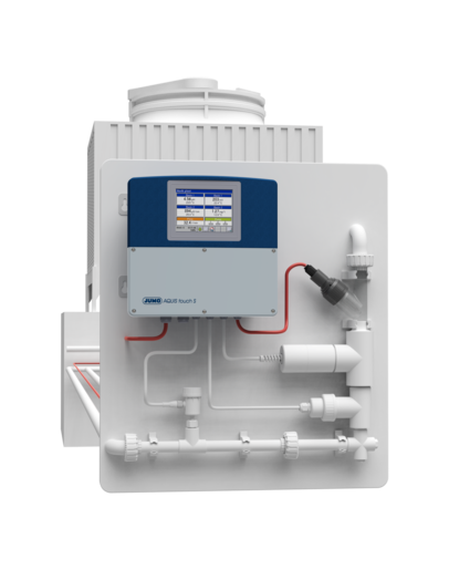 Kühlturm Messplatte Flüssigkeitsanalyse
